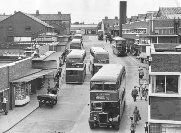 Norwich Bus Station  Appeared in EEN 19th July 1957 Appeared in EDP 17th February 2000