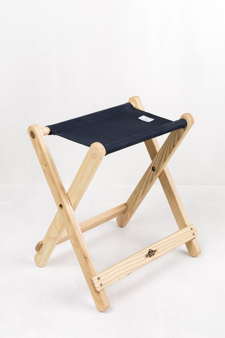 "Camp Stool | United By Blue  Open Size: 16""w x 11""d x 18""h Boxed Size: 17"" x 22"" x 3.5"""
