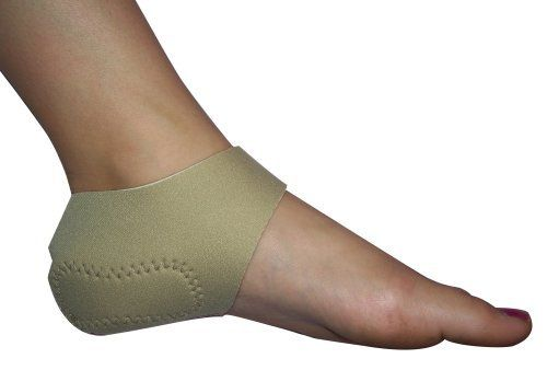 Brown Medical Satin Heels Passively Exfoliating Heel Orthotic, Small (Women's  4-7) by Brown Medical. $20.00. Small:  Womens shoe 4 to 7. Medium:  Womens Shoe 8 to 11; Mens Shoe 6 to 9-1/2. Not sold in pairs. One Satin Heels per package. Large:  Mens shoe 10 to 12. Soften Heels While You Sleep! Satin Heels support pad has built-in exfoliating strips that gently remove dry skin and soften callused heels during sleep.  Normal motion during sleep facilitates the exfoliation process...