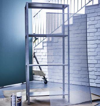 1000 id es sur le th me paint ikea furniture sur pinterest meubles ikea ik - Etagere metallique ikea ...
