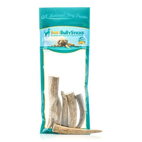 USA Natural Elk Antler Dog Chews by Best Bully Sticks 8 oz Bag * You can get more details by clicking on the image.