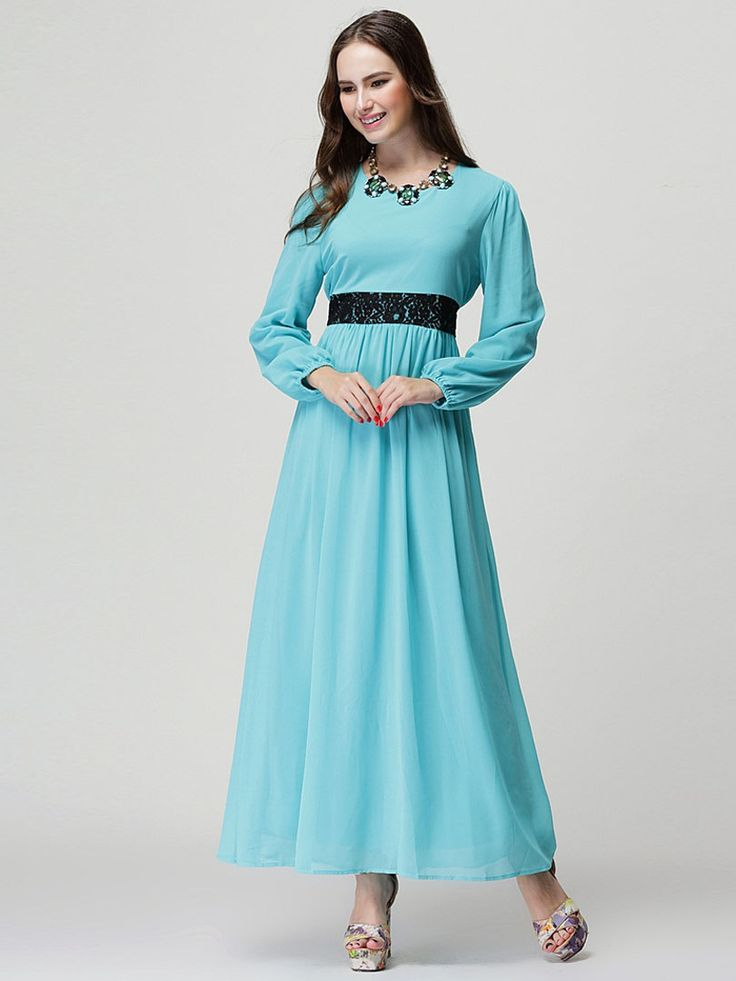 Maxi dress extra long