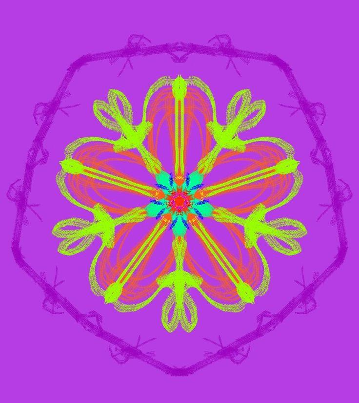 Flor manticolor