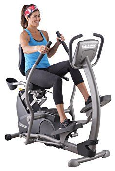 Best Recumbent Elliptical Reviews - These recumbent elliptical machines combine the best attributes of recumbent exercise bikes with regular elliptical machines. #exercise #fitness