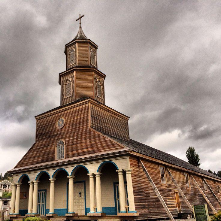 Iglesia de Nercón-Chiloé Chile