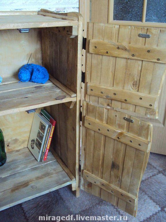 Купить Небольшой Шкафчик - для книг, для хранения, мебель из дерева, для интерьера, Шкафчик, мебель для дачи, комод