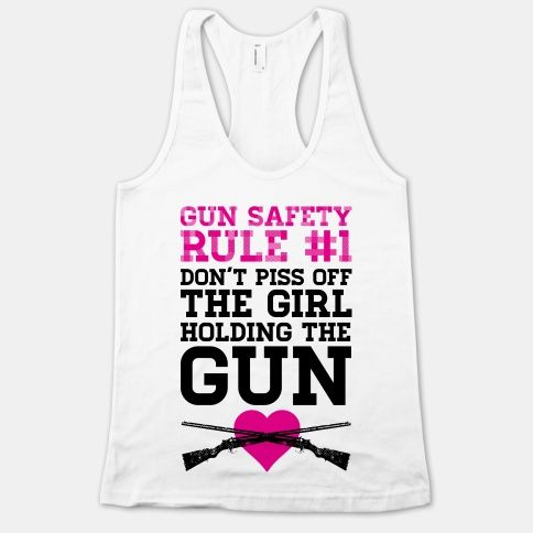 Gun Safety Rule #1 | HUMAN | T-Shirts, Tanks, Sweatshirts and Hoodies