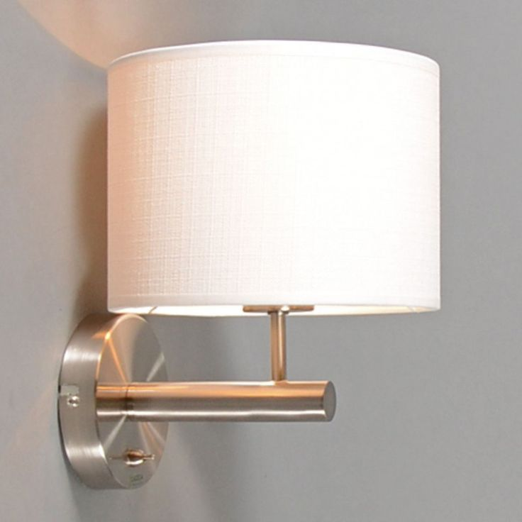 Wall Lamp Combi Steel with Shade