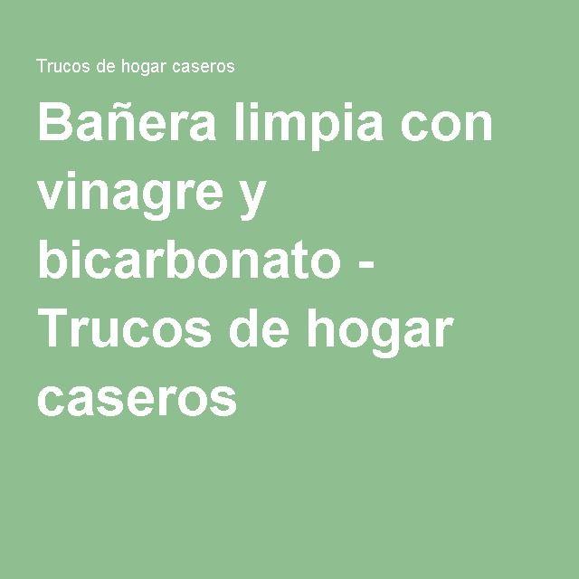 Baño Intimo Con Vinagre Blanco:Más de 1000 ideas sobre Bañera Limpia en Pinterest