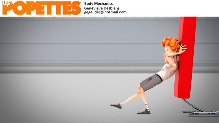 LES POPETTES -  SUMMER 2014  - Geneviève Desbiens - Body Mechanics | Squeeze Studio Animation.