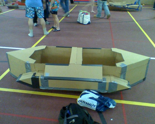 20 Best Cardboard Boat Regatta Ideas Images Boats Flickr Photo