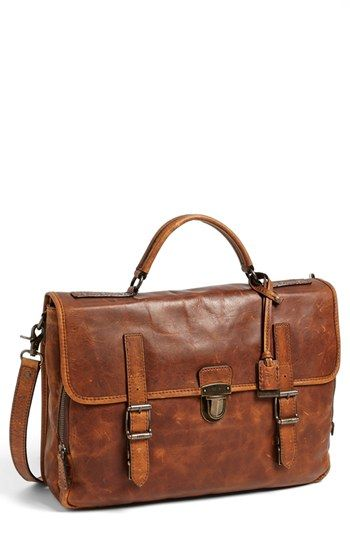 Frye 'Logan' Briefcase | Nordstrom  Much better than carrying a backpack to work.