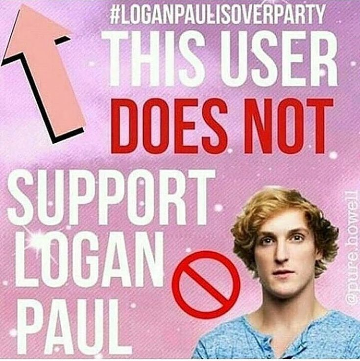 To the people who do support Logan: I don't get it, do you defend his actions or him as a person?
