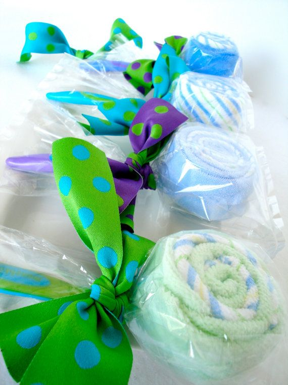 Baby Diaper Cake  Baby Washcloth Lollipops by DomesticDivaDesignz, $35.00