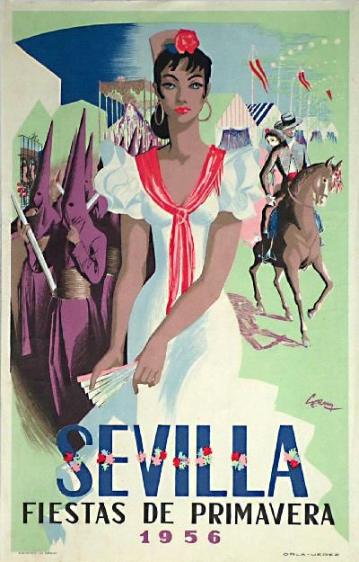 Sevilla - Fiestas de Primavera, 1956