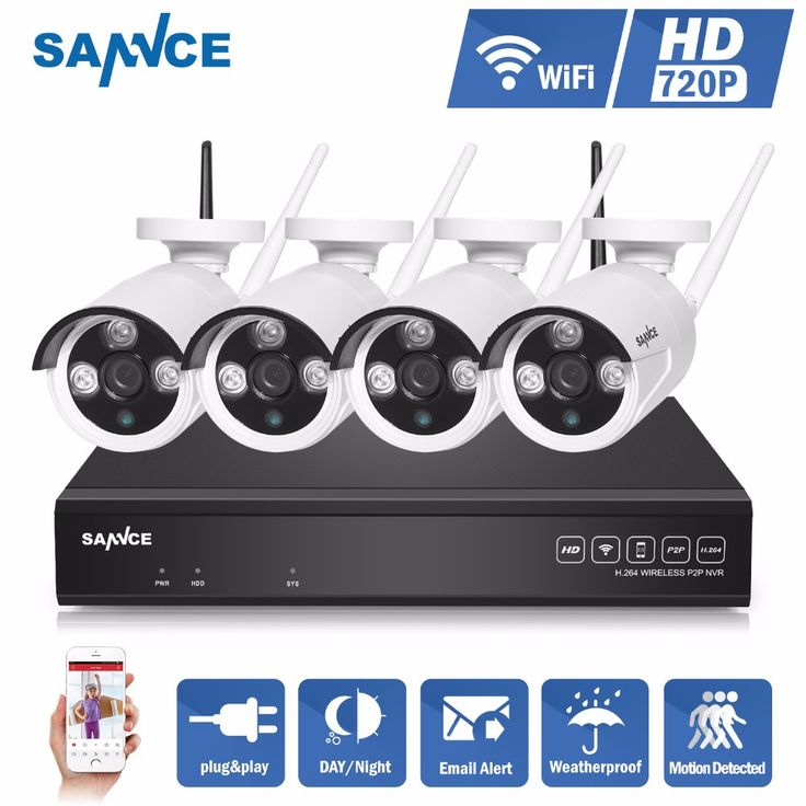 SANNCE 4CH IR HD Home Security Wireless NVR IP Camera System 720P CCTV Set Outdoor Wifi Cameras Video NVR Surveillance CCTV KIT - ICON2 Luxury Designer Fixures  SANNCE #4CH #IR #HD #Home #Security #Wireless #NVR #IP #Camera #System #720P #CCTV #Set #Outdoor #Wifi #Cameras #Video #NVR #Surveillance #CCTV #KIT
