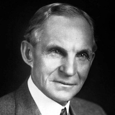 """""""If you think you can or can't, it's true."""" ~ Henry Ford"""