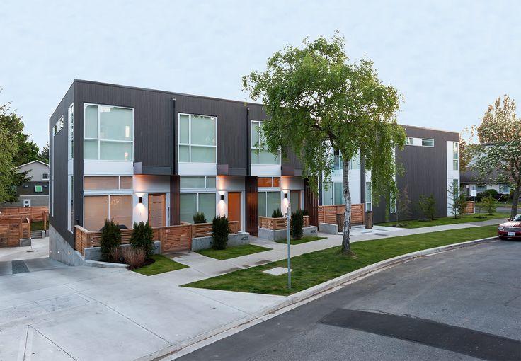 Frank, A Modern Townhouse Development