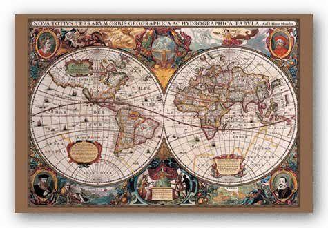 17th Century World Map (Antique) Art Poster Print - 24x36 Poster Revolution,http://www.amazon.ca/dp/B002ZPLGM4/ref=cm_sw_r_pi_dp_8ZIGtb03JGSWZ464