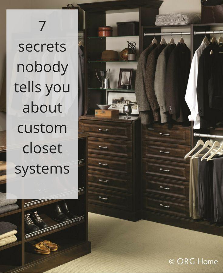 How To Design A Closet the 25+ best custom closet design ideas on pinterest | custom