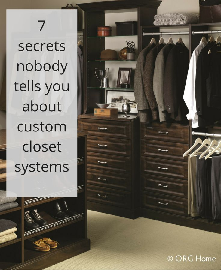 25+ Best Ideas About Custom Closets On Pinterest | Custom Closet