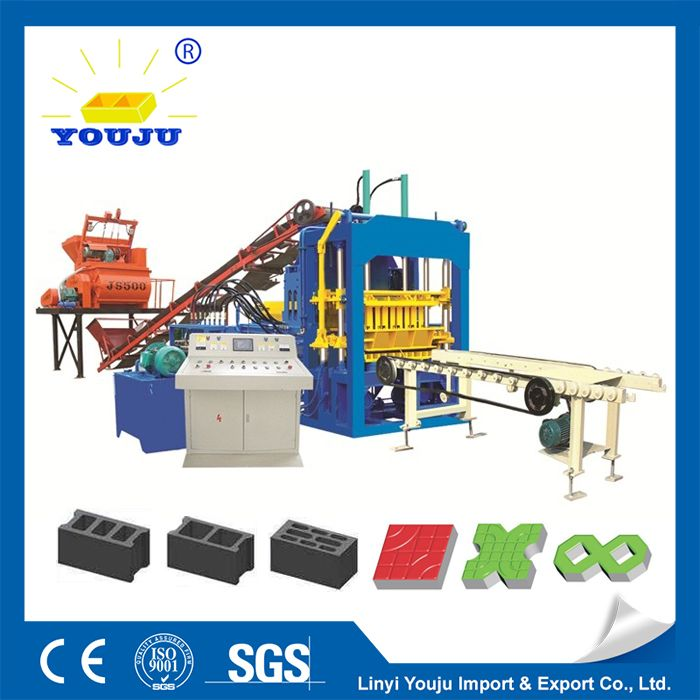 automatic stationary block machine hydraulic,large output