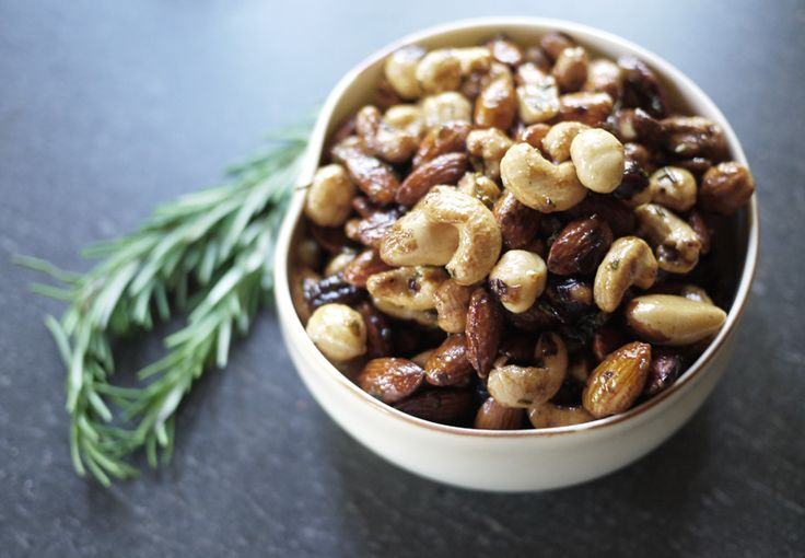 DIY Spiced Nuts - best holiday snack!