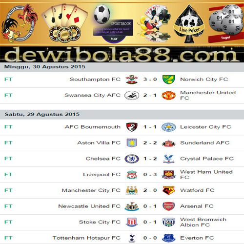 Dewibola88.com | HASIL PERTANDINGAN ENGLISH PREMIER LEAGUE Gmail        :  ag.dewibet@gmail.com YM           :  ag.dewibet@yahoo.com Line         :  dewibola88 BB           :  2B261360 Path         :  dewibola88 Wechat       :  dewi_bet Instagram    :  dewibola88 Pinterest    :  dewibola88 Twitter      :  dewibola88 WhatsApp     :  dewibola88 Google+      :  DEWIBET BBM Channel  :  C002DE376 Flickr       :  felicia.lim Tumblr       :  felicia.lim Facebook     :  dewibola88