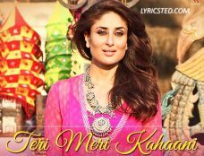 Teri Meri Kahani Lyrics - Gabar is Back
