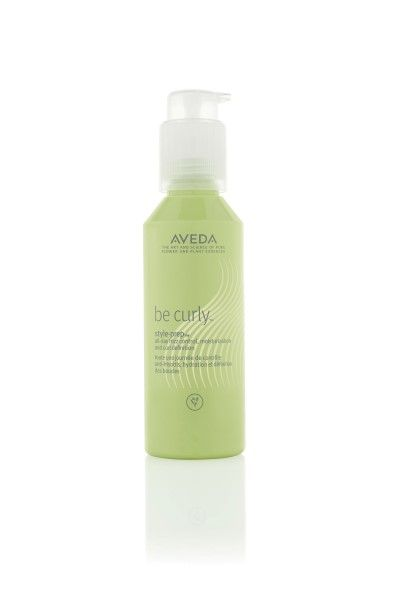 Aveda artist Tippi Shorter likes to use Be Curly Style-Prep as a leave-in conditioner to keep curls soft and defined.