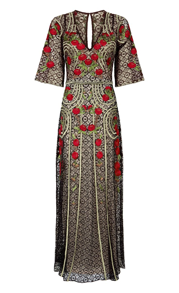 Long Antila Dress by TEMPERLEY LONDON