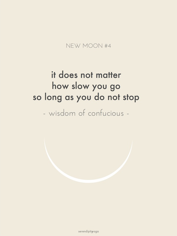 it does not matter how slow you go so long as you do not stop // wisdom of confucius