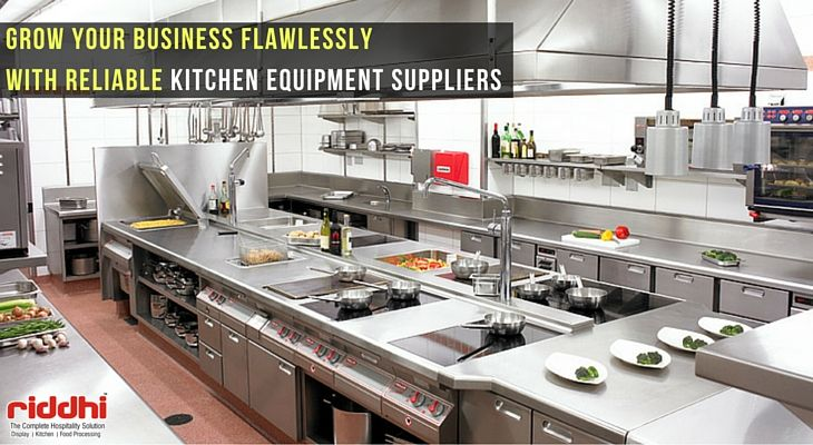 Grow Your Business Flawlessly with Reliable Kitchen Equipment Suppliers  #KitchenEquipment #DisplayCounter #KitchenEquipmentSuppliers #RiddhiDisplay