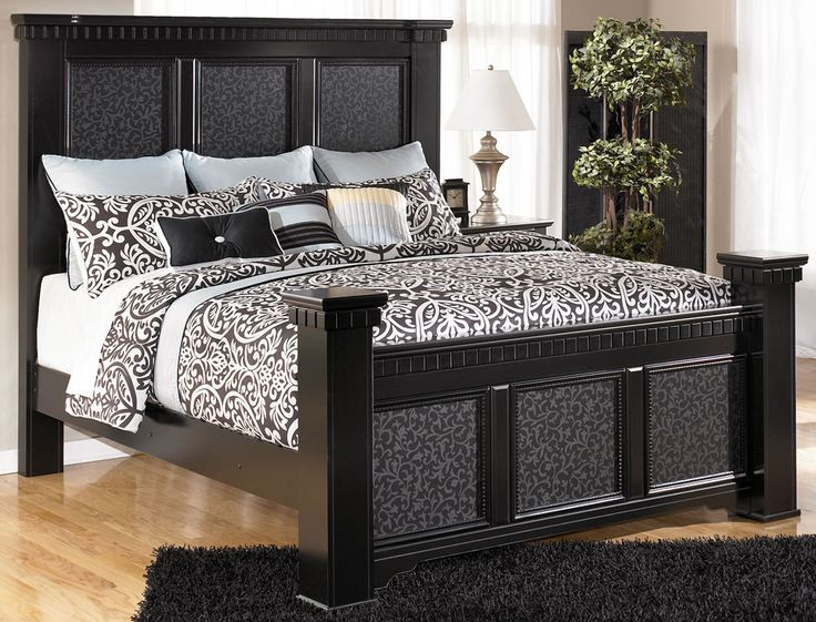 Black Bedroom Sets Ashley cheap black king bedroom sets - creditrestore