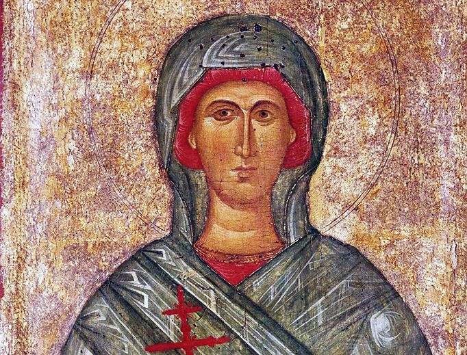 St. Anastasia is one of the few women martyrs greatly revered in both the Eastern Catholic and Orthodox Churches, as well as in Rome itself.  #PatronSaintsNews  #StAnastasia