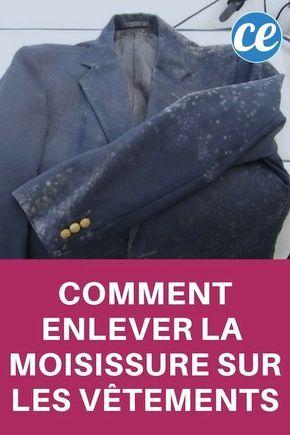 Taches de Moisissure Sur Vêtements : Comment Les Enlever FACILEMENT.