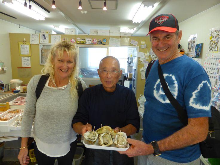 Tohoku oysters