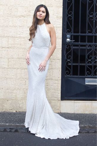 Backless wedding gown by Karen Willis Holmes - 'Nerida'