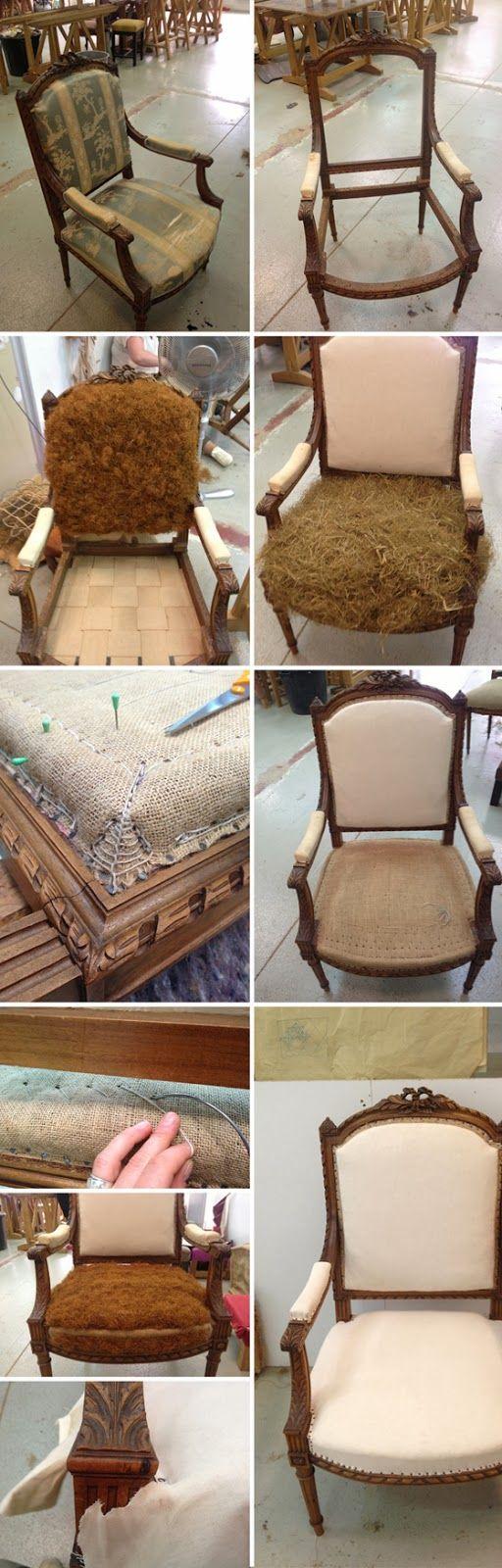 les 25 meilleures id es de la cat gorie rembourrage sur pinterest chaises rembourr es diy. Black Bedroom Furniture Sets. Home Design Ideas