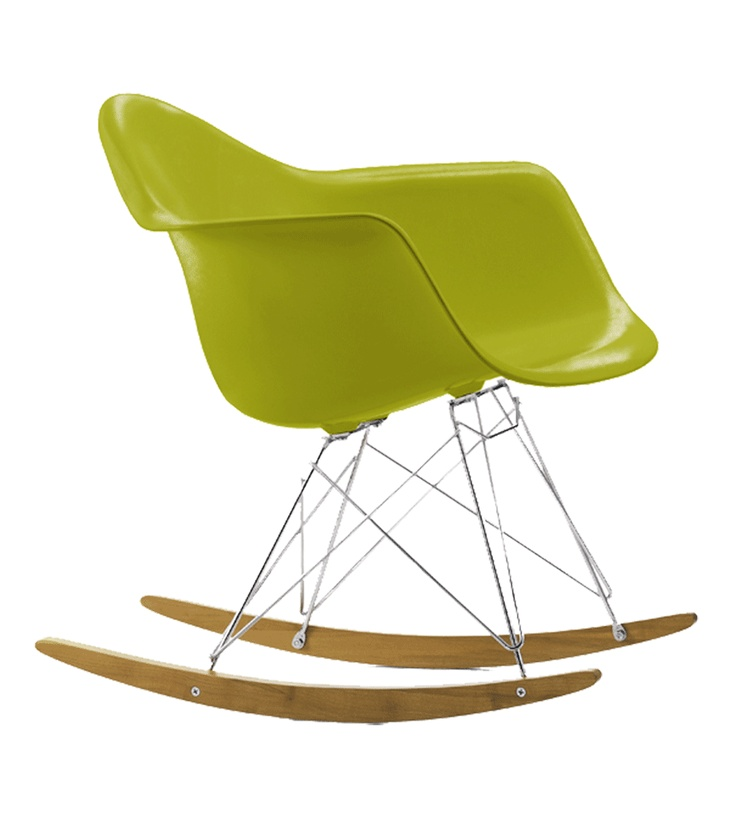 23 best product rocking chair sedie a dondolo images for Fauteuil eames rocking chair