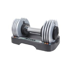 Jillian Michaels Ultimate 25 lb. Adjustable Speed Dumbbell, (dumbbells, adjustable weights, weights, fitness, jillian michaels, exercise, weight training, adjustable dumbbels, adjustable dumbells, dumbells), via https://myamzn.heroku.com/go/B0045GPUPK/Jillian-Michaels-Ultimate-25-lb-Adjustable-Speed-Dumbbell - these are so great...I keep them in the living room.  You can quickly switch weights to go from strength to cardio moves and they take up no room!
