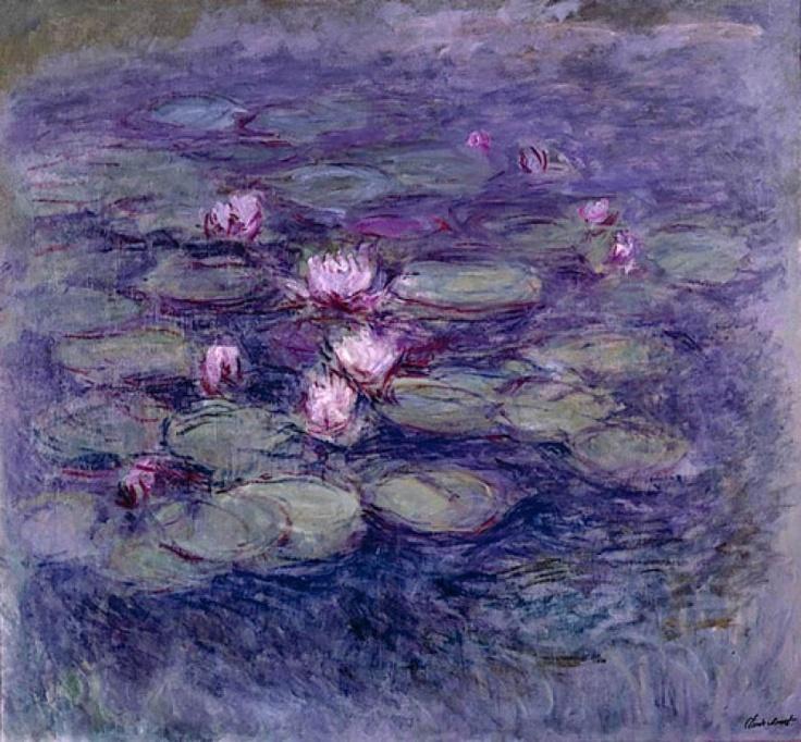 Claude Monet, Les nymphéas                                                                                                                                                      Plus