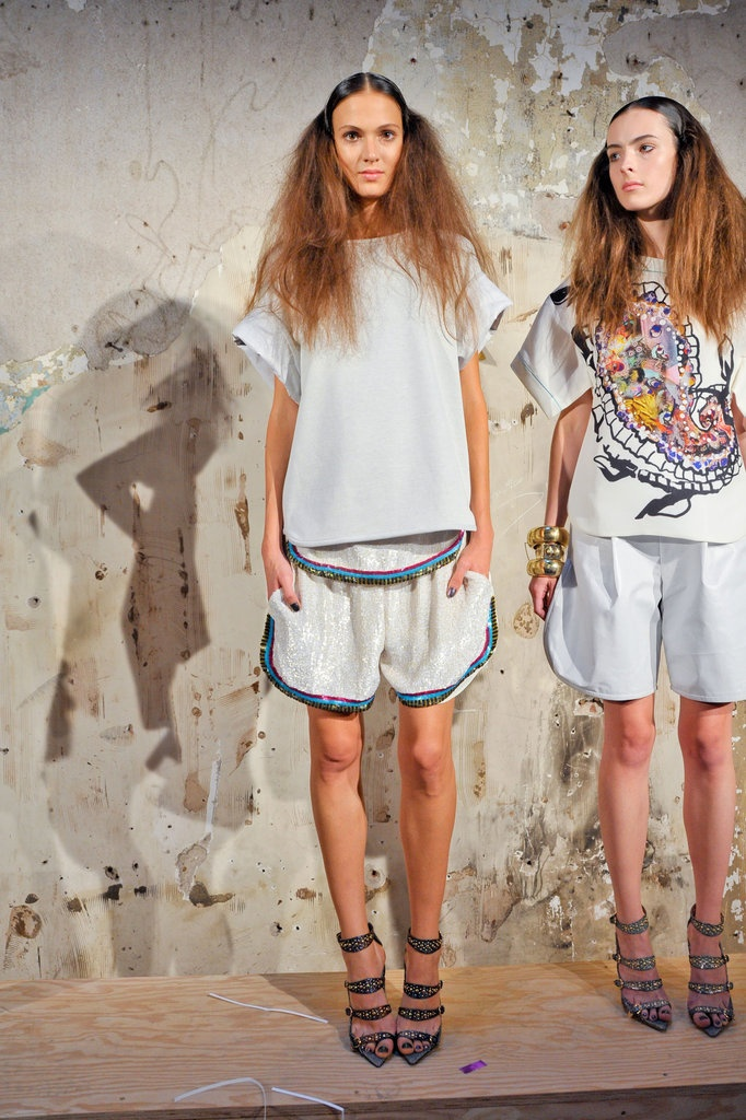 MELTING OVER Cynthia Rowley Spring 2013