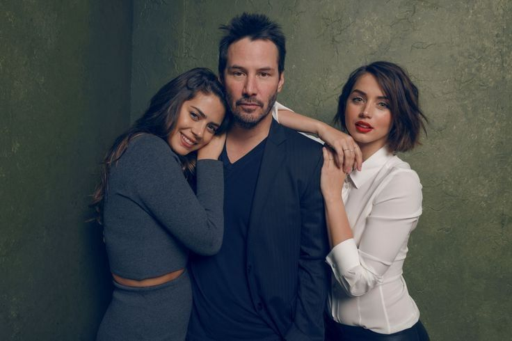 Best Image Of Ana De Armas With Keanu Reeves Keanu Reeves Actors Knock Knock