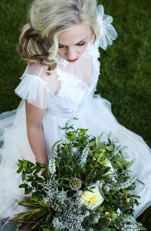 A Whimsical Secret Garden Vintage Romance Photograher: Jamie Jauriqui Photography