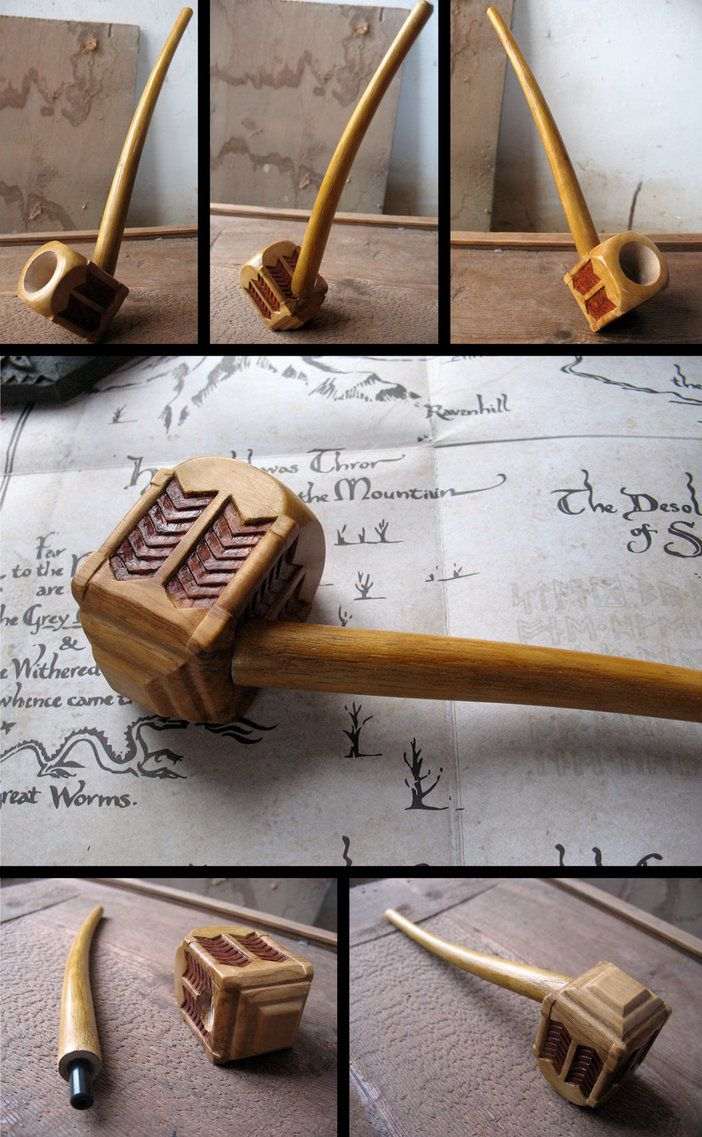 Thorin Oakenshield's pipe replica, functional by HouseOfLostPlay on DeviantArt