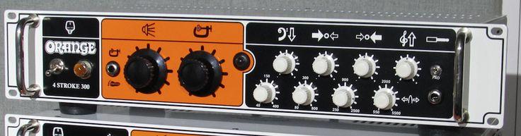 Orange Amplifiers 4-stroke 300W Bass Amp Head  White