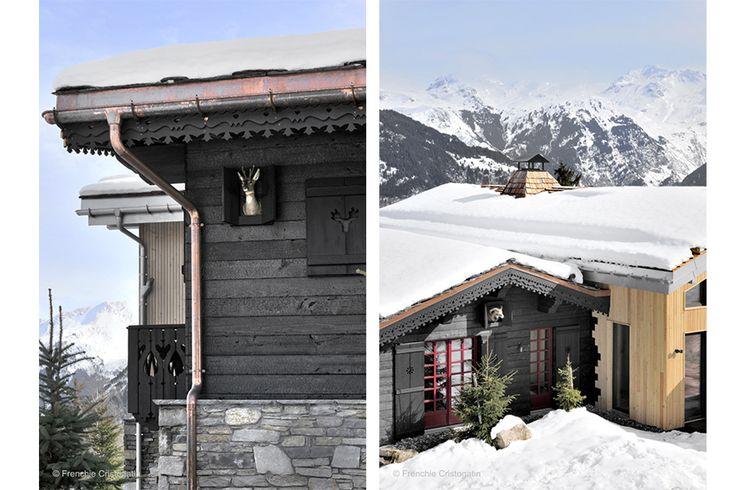 Shou Sugi Ban selon Zwarthout Courchevel OG Architecture