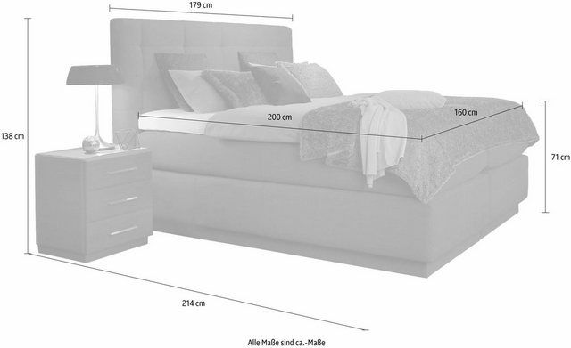 Boxspringbett »Base Box«, mit Airogel®-Technolo…