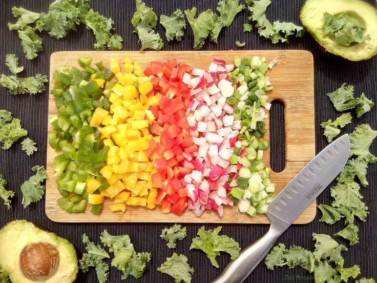 zöldség szivárvány